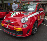 2013 Fiat Abarth Coupe - Concorso Ferrari & Friends (other Italian cars)