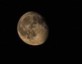 Waning Gibbous Moon -  89% full