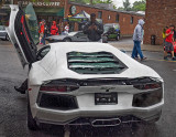 Lamborghini Aventador in the rain - Concorso Ferrari & Friends (other Italian cars)