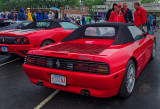 Ferrari 348 (Type F119),; mid-engined, rear-wheel-drive V8; 2-seat sports car; 1988-1995