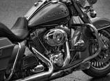 Harley-Davidson Road King - Color version below.