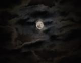 Moonlit clouds