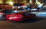 Red Ferrari on Broadway