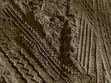 Tire Prints in the sand
