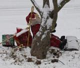 Santa takes a rest
