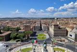 Roma from La Terrazza delle Quadrige