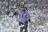 Jen on Skis