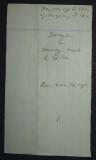 August 1868 - Lawsuit particulars Back