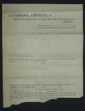 April 1871 - writ - Bottom torn off
