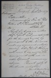1877 Maritime Letter to Captain Zaccheus Allen, Master of the Eric the Red