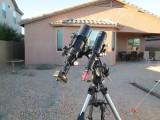 Explore Scientific 102ED Refractor and the Celestron AVX