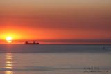 20130825_30882 Big Ships, Little Boat, Bigger Sunrise (Sun 25 Aug)