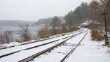 Snowy Day by the Tracks II