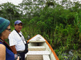 Donna and Ricardo in the Amazon