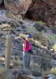 Donna at Hot Creek