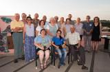 Farewell dinner above Old Havana