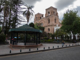 Cuenca City Park and Cathedral