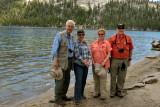 Jim, Glynda, Margaret Ann, and Larry at Tanaya Lake