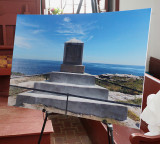 Smith Monument Rededication at Star Island
