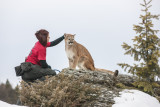 Montana Wild Animal Model Snow Shoot with Charles Glatzer-2014