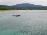 Dan in the boat