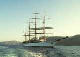 The rebuilt Sea Cloud we sailed