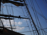 Unwrapping the sails