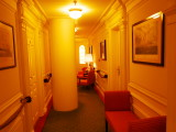 Hallway outside of our room