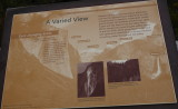 Tunnel view plaque