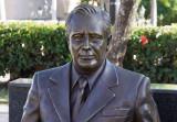 Franklin Roosevelt visits