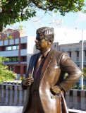 John Kennedy visits