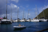 Coming into Pusser's
