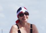 Sue after snorkling