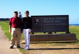 Us at PR Fort sign