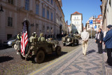 American troops return to Prague