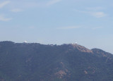View of the Mt Hamilton observatory