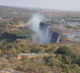 Amazing length of the falls