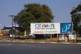 Entering Botswana