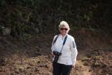Sue ready for photos