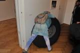 Kuscheliger Reifen-Ersatzteil