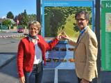 Wiener Alpenbogen: Eröffung des Wanderstartplatzes Katzelsdorf am 11. April 2014
