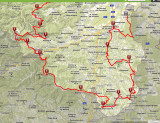 Der Wiener Alpenbogen: Fast 300 km