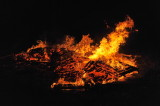 Osterfeuer auch in Ofenbach: