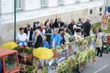 Fun- und Freizeitvereins Wagens vor