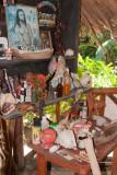 Singular Altar en el Centro de Visitantes