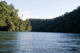 Vista del Area llamada 'Cañon del Rio Dulce'