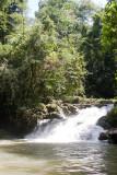 Cascada en el Rio Lamparas