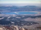 Mono Lake, Mt. Patterson, Bald Mountain, Rim Fire Smoke