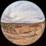 Hunt's Mesa Fisheye