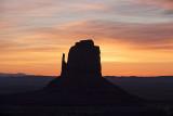 East Mitten Monument Valley Sunrise